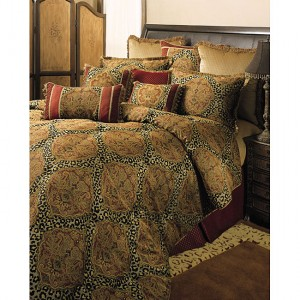 Sherry Kline Tangiers 4-pc Queen Comforter Set
