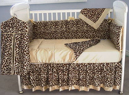 Cheetah Baby Bedding