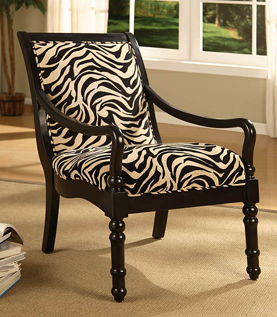 zebra chair