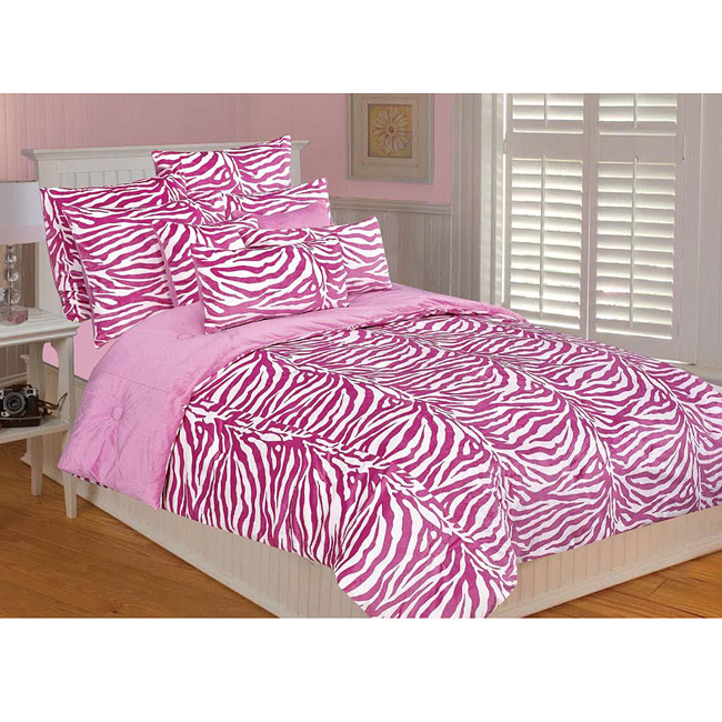 Pink zebra print bedding image search results Zebra print bedding