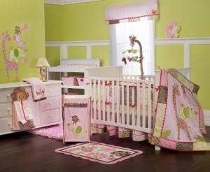 Jungle Jill Crib Set