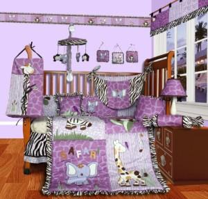 13 Piece Safari Crib Bedding