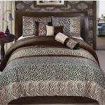 """Animal Safari Print"" Comforter Set"