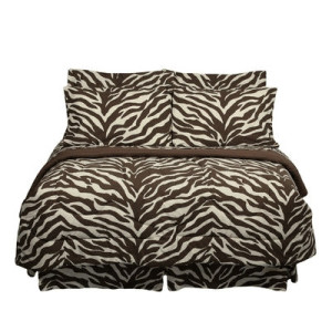 Zebra Waterbed Sheets