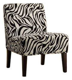 Zebra Lounge Chair