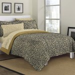 Cheetah Comforter Set