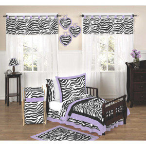 Funky Zebra Toddler Bedding
