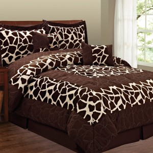 Fashion St. Micro Suede 6-Piece Comforter Set