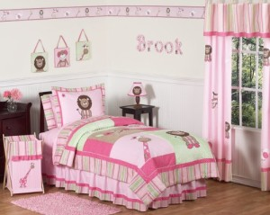 Girls Jungle Bedding