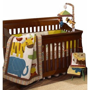 Jungle Jingle Crib Set