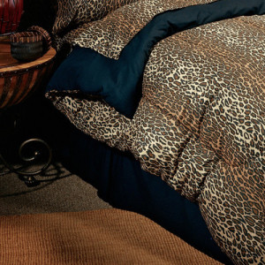 Leopard Waterbed Sheet Set