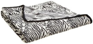 All Seasons Micro Fleece Animal Print Blanket