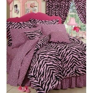Zebra Print Bed in a Bag – Queen