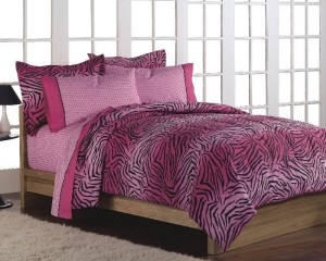 Pink Zebra Bed in a Bag