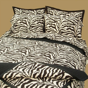 Zebra Safari Sheets
